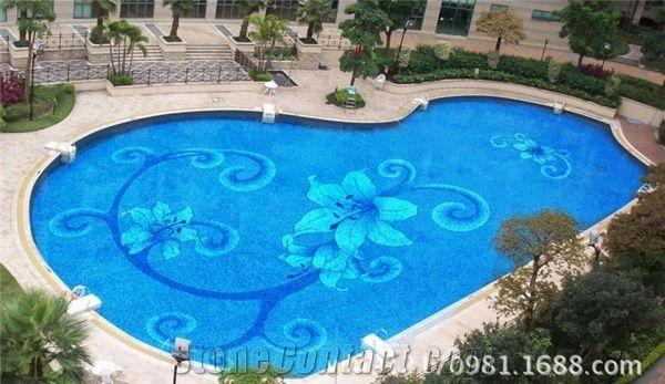 Glass Mosaic Swimming Pool Tiles Cheap Swimming Pool Tile