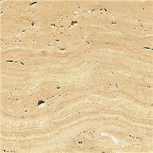 T106 Beige Travertine Tile & Slab