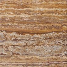 T113 French Rivers Azarshahr Walnut Travertine Tile & Slab
