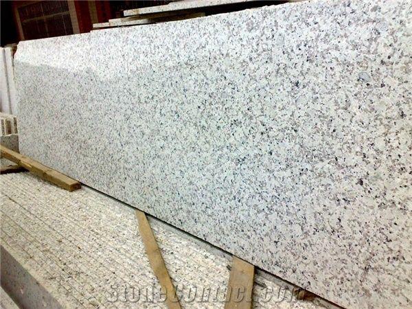 Wellest G404 Bala Flower Small Granite Slab Random Edge Polished Surface 2cm 3cm Thick China White Natural Stone