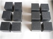 Wellest G684 Fortune Black Granite Paving Cube Stone,Polished Finish,Polished Edge