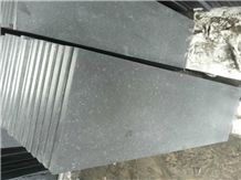 Wellest G684 Fortune Black Granite Step, Honed Surface, Eased Edge,China Black Granite