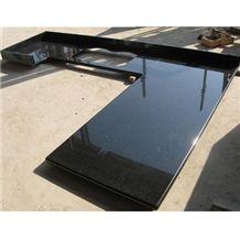 Wellest Galaxy Black Granite Countertop with Undermount Sink