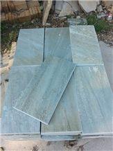 Wellest Green Slate Natural Finished Floor Wall Tile
