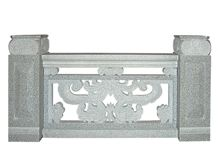 Wellest Grey Granite Fence,China Granite,Model No.Gb037