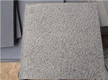 Wellest Hinam Black Basalt Flooring Tile, Bush Hammered Finish,Outdoor Using,China Basalt