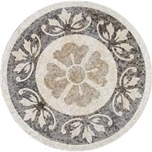 Wellest Marble Mosaic Medallion,Stone Pattern,Customized,Model No. Mm032 Marble Medallions