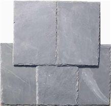 Wellest Rectangular Black Slate Roof Tile, Sides Natural Split,Without Pre-Drilled Holes,China Natural Black Slate Roof Tile,Model No.Srt001