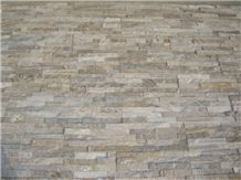 Wellest Sl-014fz Yellow Wood Slate Flat Cultrue Stone, Ledge Stone Wall Cladding Tile ,Veneer Panel, Z Shape, Interlocked, China Yellow Slate Stacked Stone