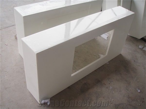 Wellest Super White Crystallized Glass, Marmo Glass,Narno ...