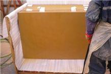 Wellest Sy153 Gold Sandstone Flooring Tile, Honed Finish,China Yellow Sandstone