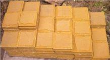 Wellest Sy153 Gold Sandstone Mushroom Finish,China Yellow Sandstone