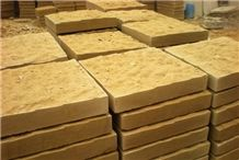 Wellest Sy153 Gold Sandstone Wall Tile,Rough Picked Finish,China Yellow Sandstone