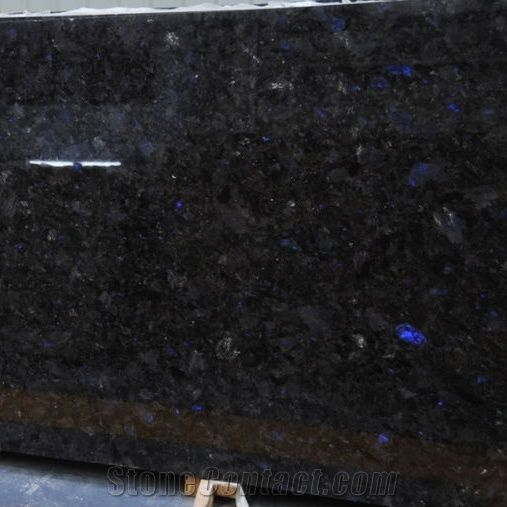 Labradorite Volga Blue Granite Slabs Tiles From Ukraine