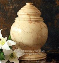 Verona Beige Marble Cremation Urns