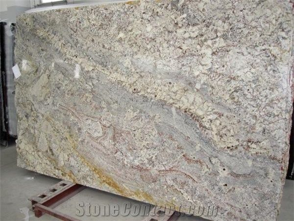 Imported Granite Sienna Bordeaux Slabs Tiles From China