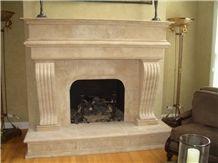 Fireplace Design with Durango Limestone