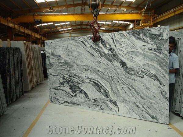 Viscount White Granite Slabs Tiles From India 275667