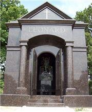 Mausoleum with Dakota Mahogany Granite