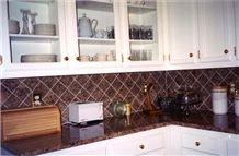 Prairie Brown Granite Kitchen Countertops