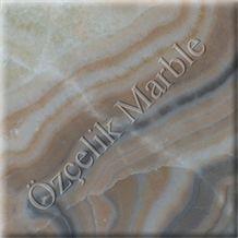 Ozcelik Rainbow Onyx - with Front Light - 30x30 cm