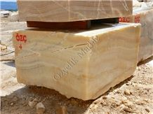 Seben Honey Onyx Blocks, Turkey Yellow Onyx