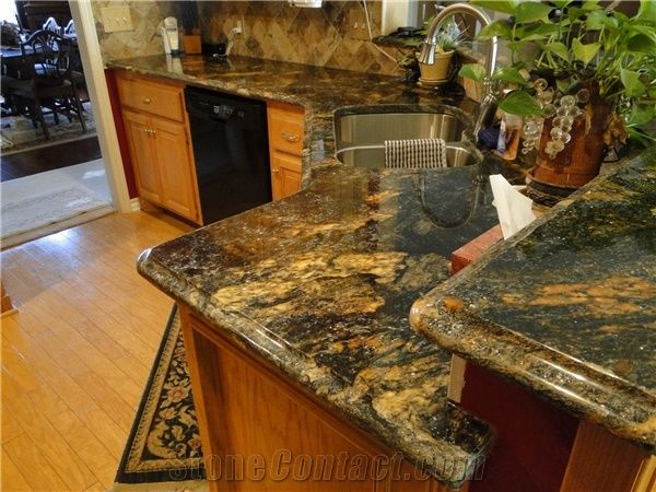 Forest Fire Granite Countertop From United States