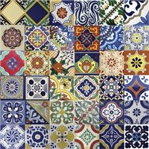 Mexican Tiles, Talavera Ceramic Building & Walling