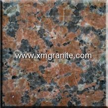 Maple Leaves Granite Slabs & Tiles