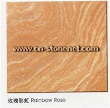 Rainbow Rose Marble Tile and Marble Slab,Multicolor Marble