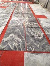 Australia Grey Wave Vein Marble Slabs,China Australian Grey Marble Wall Cladding,Floor Covering Pattern,Interior Walling Tile