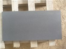 Honed China Black Basalt Andesite Slabs Tiles Panel Cut to Size Wall Cladding Panel,Floor Covering Pattern,Exterior Walling Pattern Tile