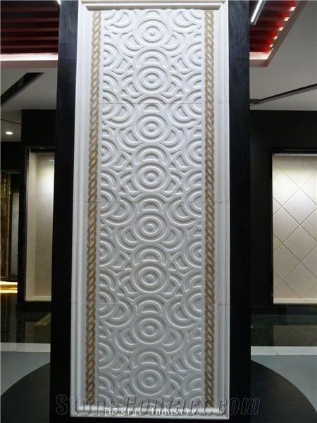 Natural 3d Sculptural Stone Wall Cladding Tile Design From
