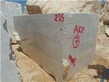 Konya Light Travertine Block, Beige Turkey Travertine Blocks