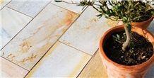 Albino Yellow Quartzite Exterior Paving Floor Tiles