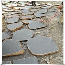 Basalt Step Stone, Grey Basalt Flagstone