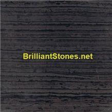Black Sandal Wood Marble(Straight Veins)