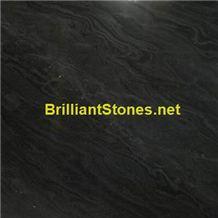 Black Sandal Wood Marble(Wave Veins)