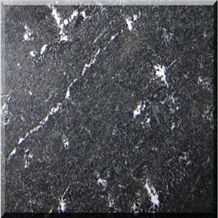 China Black Via Lactea Granite Slabs & Tiles