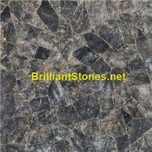 China Grey Crystal Marble, China Black Marble