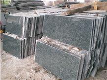 Green Jade Granite Slabs & Tiles,China Green Granite