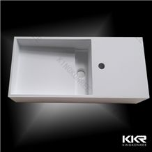 Stylish Solid Surface Stone Resin Bathroom Wash Basin