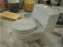 G603 Granite Toilet,Grey Granite Toilet