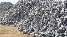 Gris Quintana Cobble Stone, Paving Stone, Grey Quintana Granite Paving Stone