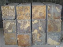 Chinese Rusty Slate Flooring Tiles