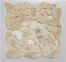 Gold Onyx Mosaic Random Shape Mosaic