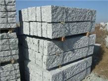 Picked Surface G341 Grey Granite Curbstone