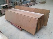 Wooden Sandstone Slab Tiles,Sichuan Beige Sandstone