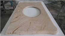 Sofitel Gold Marble Bath Top,Vanity Tops