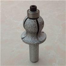 Brazed Diamond Cutting Bits for Stone